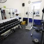 The gym at Donkin Country guest house accommodation in Beaufort West